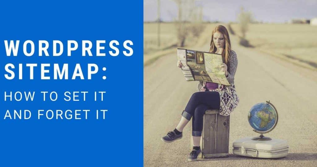 WordPress Sitemap Featured Image