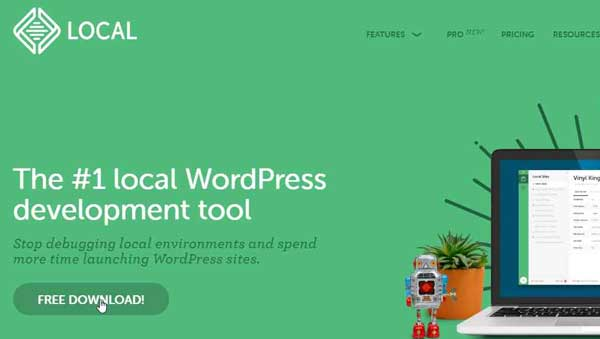 local offline wordpress by flywheel download