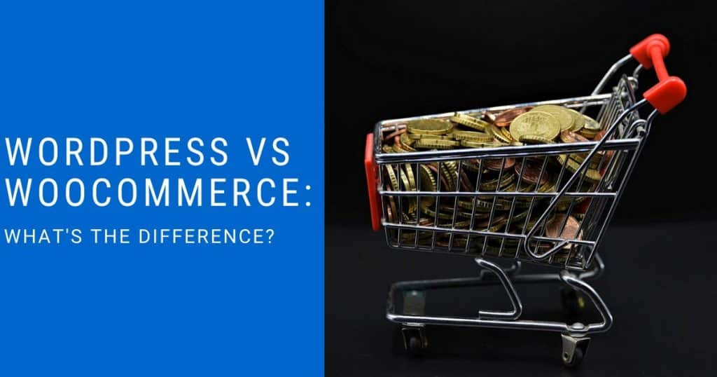 Wordpress vs WooCommerce featured image